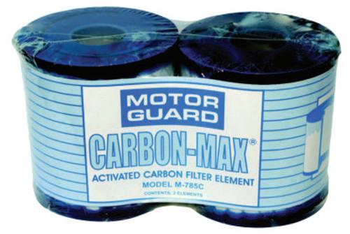 Motorguard Filter Elements, Carbon Max Replacement Filter, 1 PK, #M785C