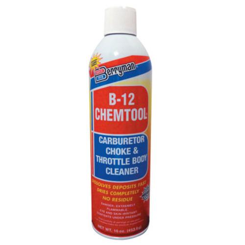 Berryman B-12 CHEMTOOL Carburetor/Choke Cleaners, 16 oz Aerosol Can, 12 CN, #0117C