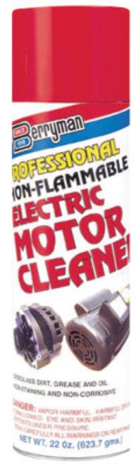 Berryman Professional Electric Motor Cleaner, 19 oz Aerosol Can, 12 CN, #1520