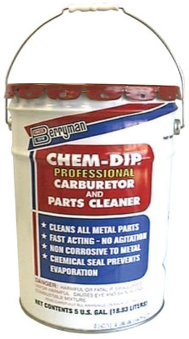 Berryman Chem-Dip Professional Parts Cleaner, 5 gal Pail, Antiseptic, 1 EA, #905
