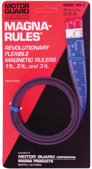 Motorguard Magna-Rules, 1 ft; 2 ft; 3 ft,, 1 EA, #MR3