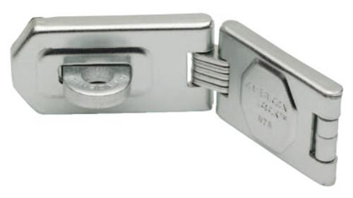 American Lock Single Hinge Hasps, 1 3/4 in W x 6 1/4 in L, 6/BX, #A875