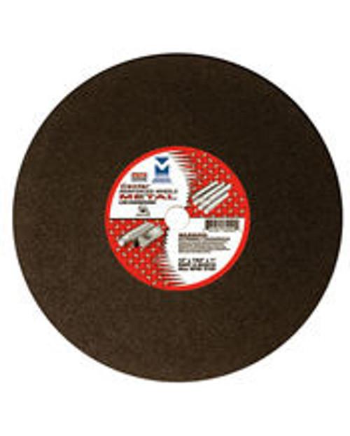 "12"" x 1/8""(5/32) x 1"" Cut-Off Wheel for Portable Gas Saw - Double Reinforced, Mercer Abrasives 604010  (10/Pkg.)"