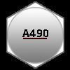 ASTM A490 Type 3 Bolt Markings