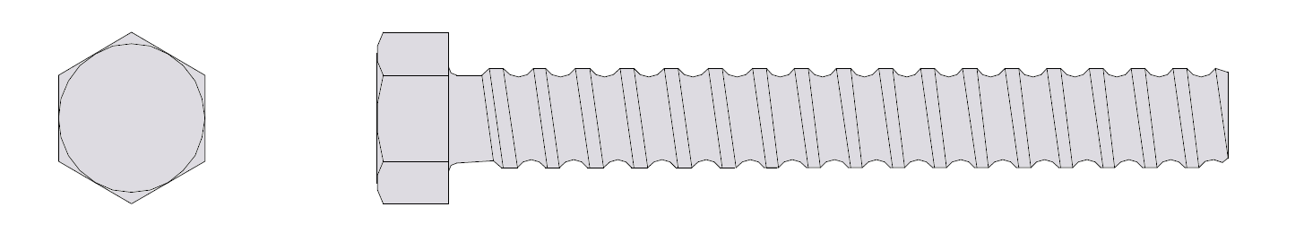Coil Thread Drawing