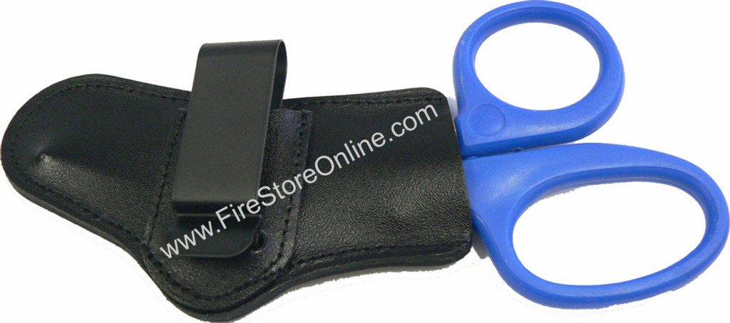 Leather Trauma Shears Holder (Left Side Carry)