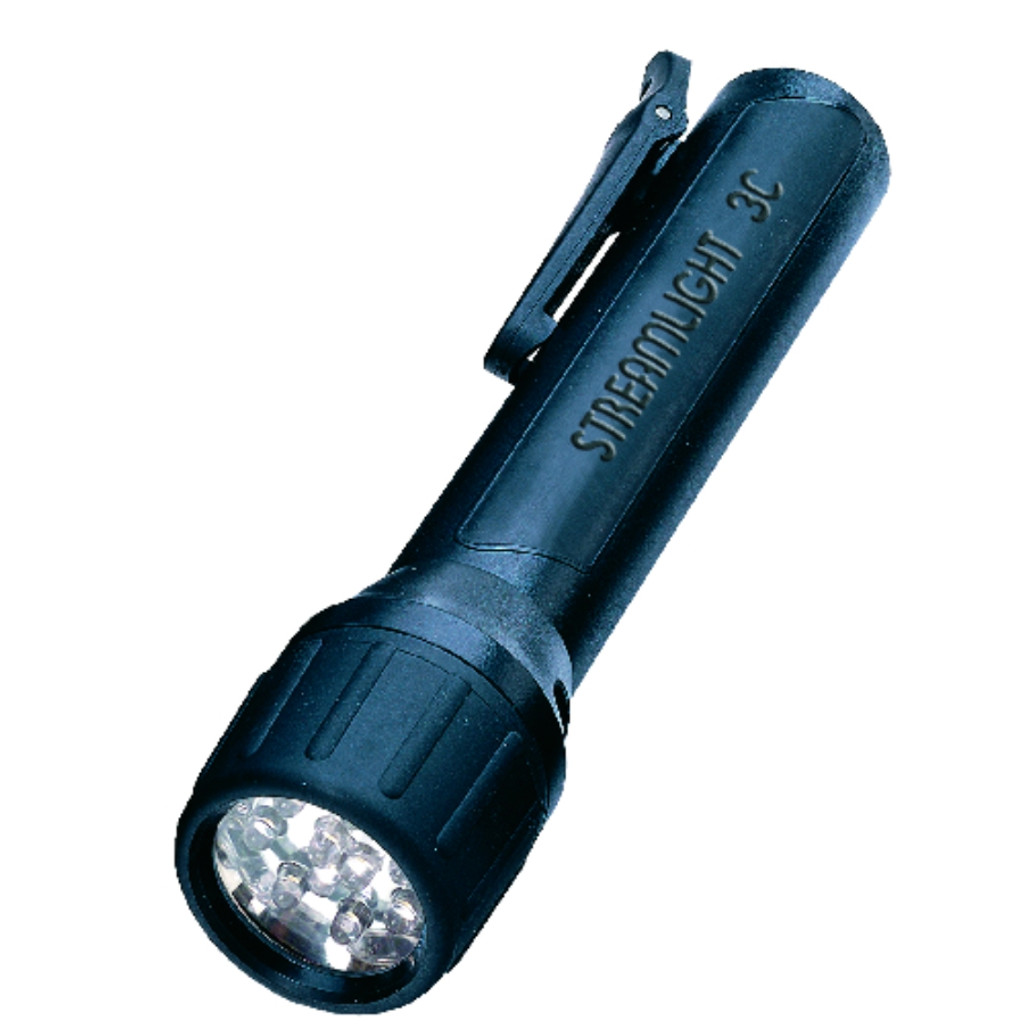 Streamlight 3C LED Light w/clip (Black)