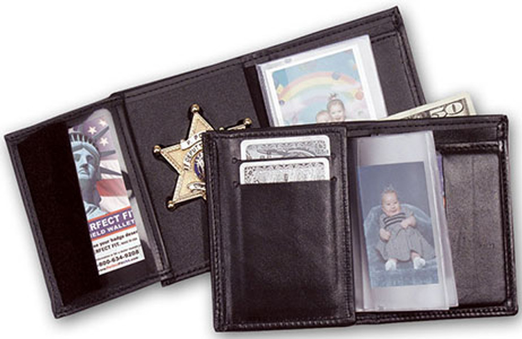 Perfect Fit Recessed Badge Wallet (CUSTOM CUTOUT)