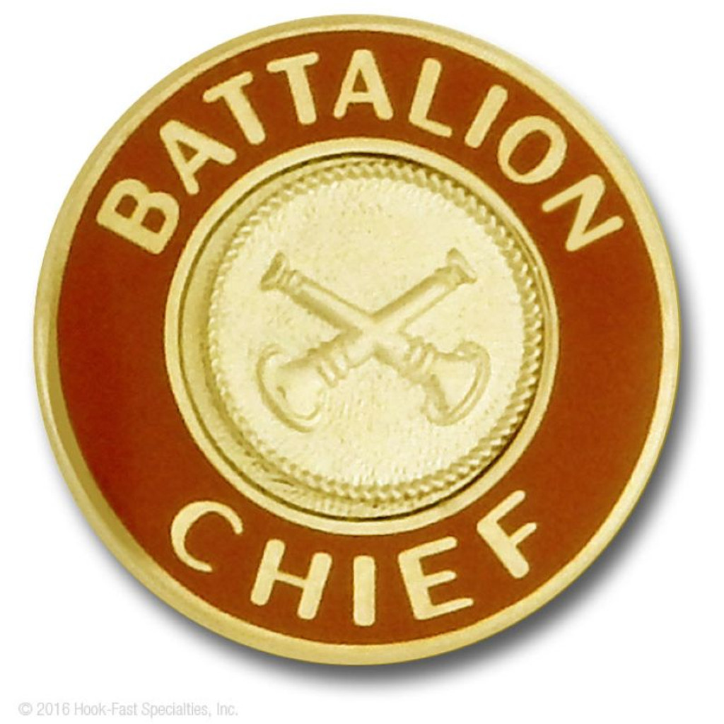 Hookfast Collar Insignia QS-3322 (Battalion Chief)