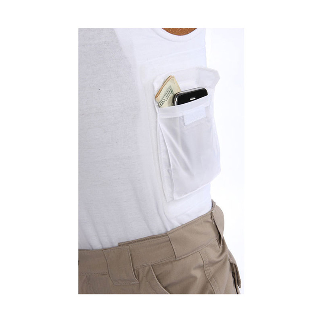 Packin Tee Accessory Pouch (Black or White)