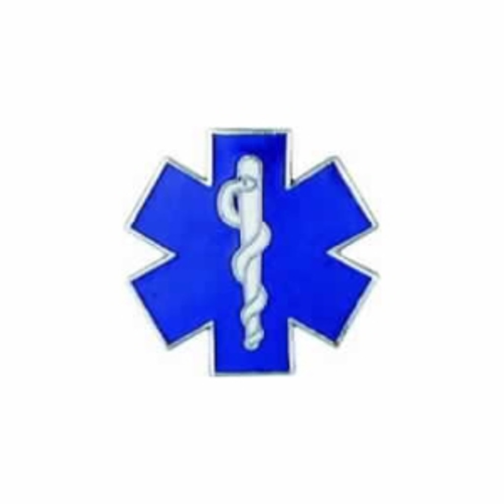 Hookfast Cut Out Star of Life Emblem QS-5889