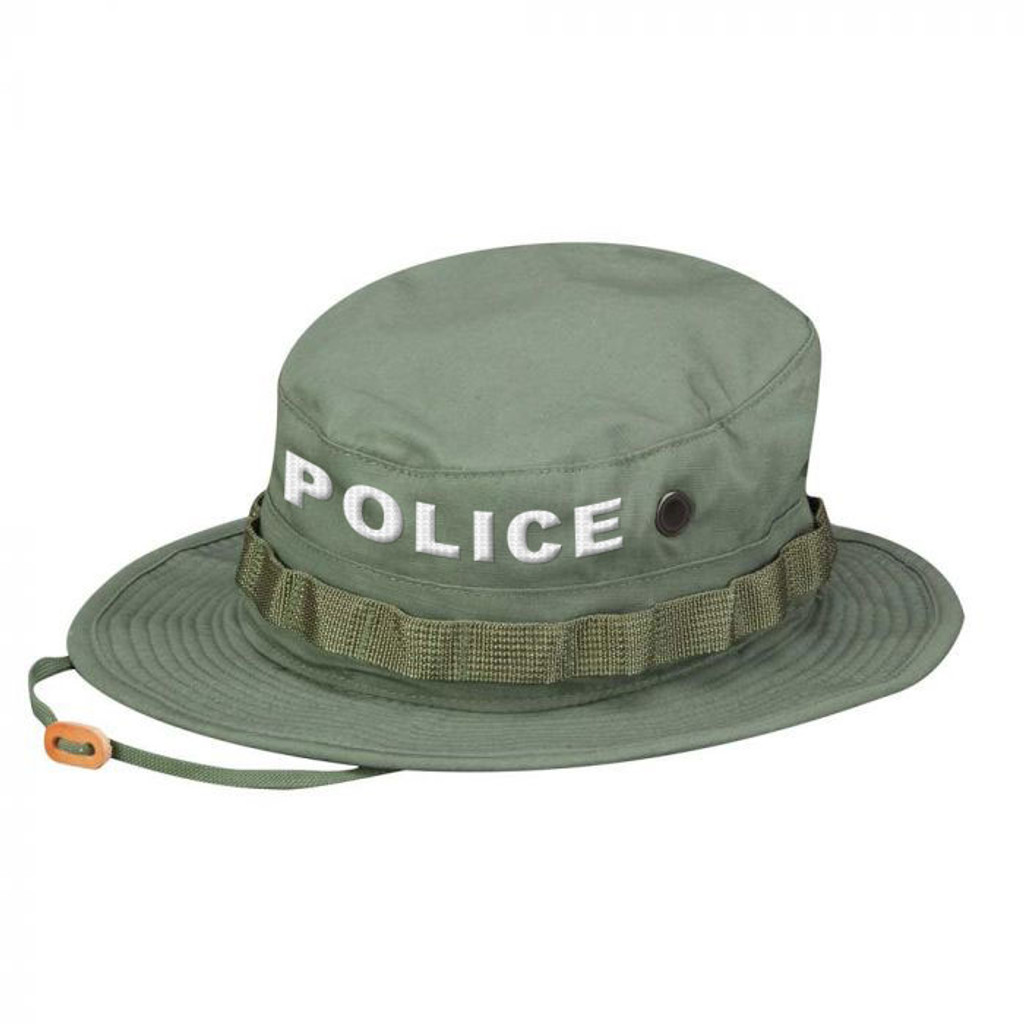 9185cb1cfd517 Propper POLICE Boonie Hat - OLIVE GREEN  mil-spec ripstop ...