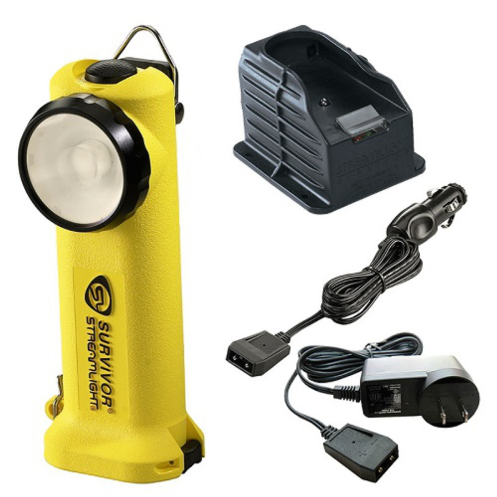 Streamlight 90513 Survivor LED AC/DC Rechargeable (YELLOW)