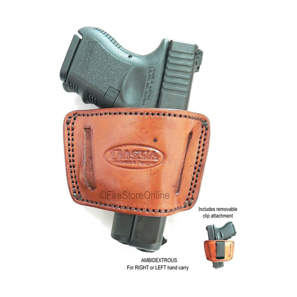 Tagua Inside the Waist HOLSTER (handcrafted leather)[BROWN]