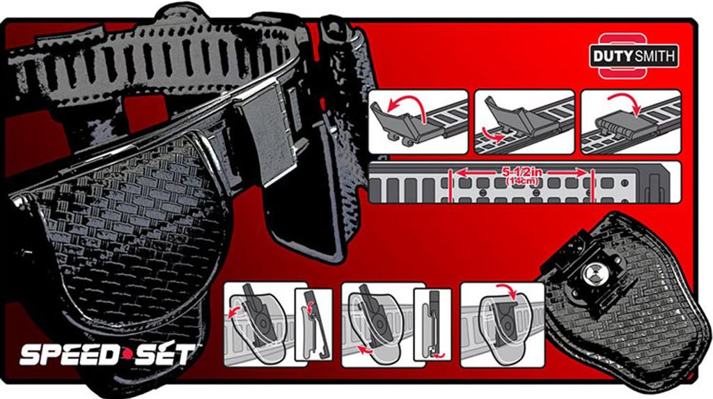 SpeedSet Universal Radio Holder (NYLON)