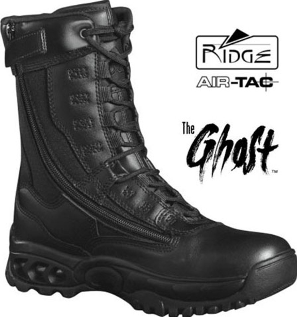 "Ridge GHOST 8"" Side-Zip Duty Boot"