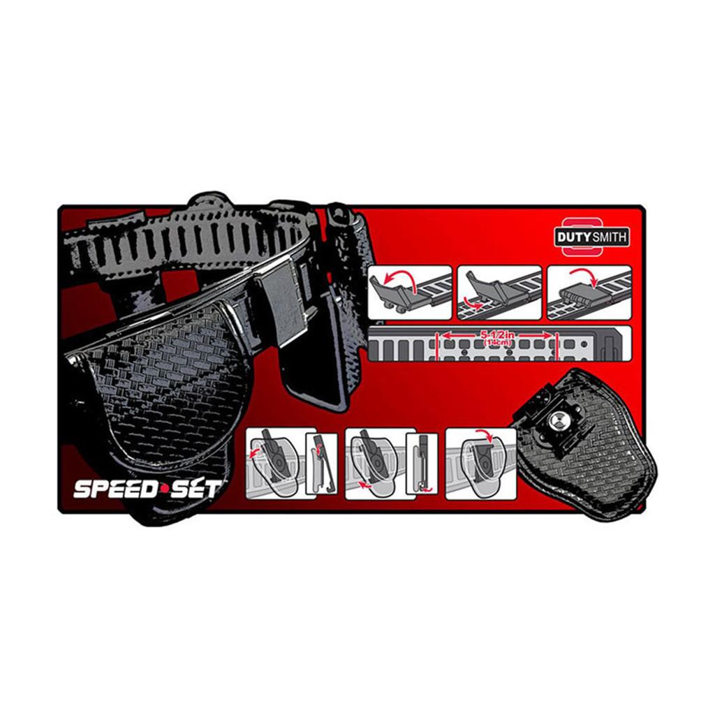 SpeedSet BATON Holder (NYLON)