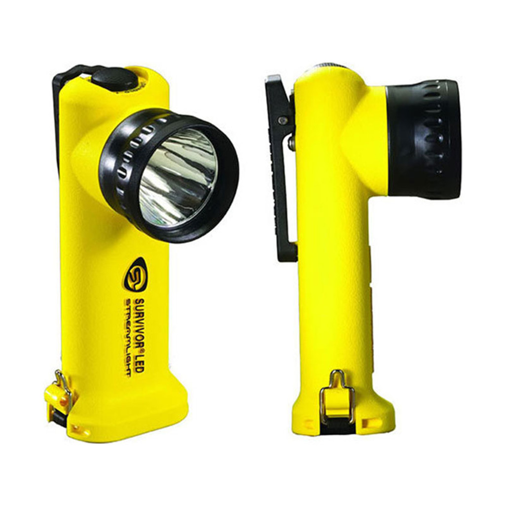 Streamlight Survivor LED Right Angled Flashlight (YELLOW)