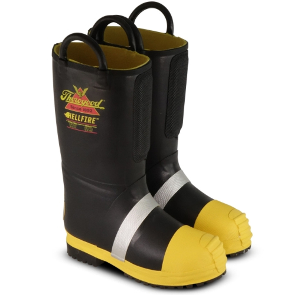 Thorogood Hellfire – Women's 14″ KEVLAR® INSULATED RUBBER BUNKER BOOT