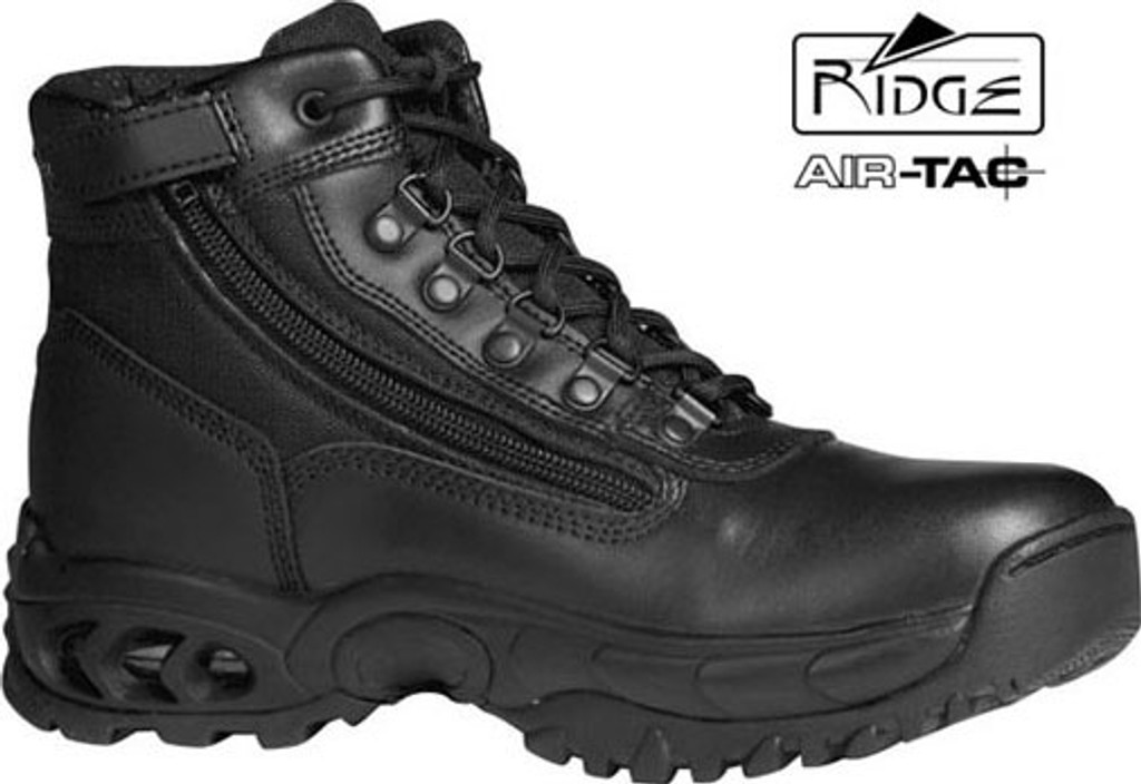 """Ridge 6"""" Mid Duty Boot - Side Zip - Size 7M [Discount 50% Off] All Sales Are Final"""