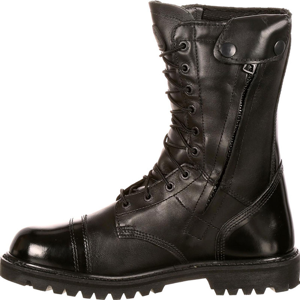 Rocky Waterproof Side Zipper Jump Boots [25% OFF] SIZE 9 REGULAR