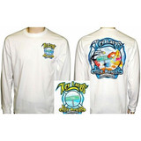 Key Largo Fire Department Long Sleeve Duty T-Shirt (White)