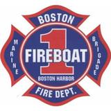 Decal - Boston Fire Boat 1 (Window Size)