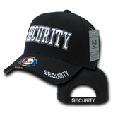Security Hat (3D Puff Embroidery - 4 locations)
