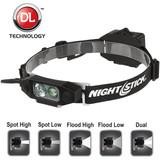 NightStick Low-Profile Dual-Light Headlamp (Fits Fire Helmets)