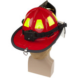 NightStick Low-Profile Dual-Light Headlamp (Fits Fire Helmets) - Battery Compartment Switch