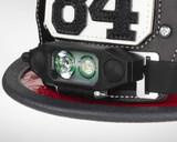 NightStick Low-Profile Dual-Light Headlamp (Fits Fire Helmets) - Up Close