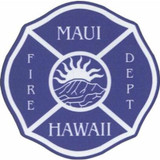 Decal - MAUI Hawaii Fire Dept (Window Size)