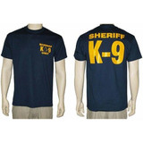 Sheriff K-9 Unit T-Shirt (Navy)