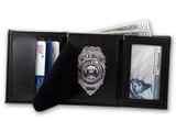 Perfect Fit Trifold Badge Wallet w/ID Window (Custom Cutout)