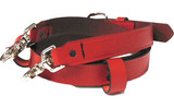 Perfect Fit RED Fire Radio Strap (Leather)