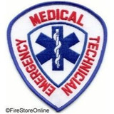 Patch - EMT (Shield with Blue Border)