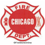 Decal - Chicago Fire Department (Window Size)