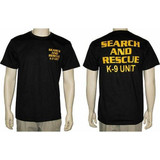 Search and Rescue K-9 Unit T-Shirt