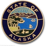 Hookfast State Seal Alaska