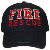 Fire Rescue HAT (3D Puff Lettering)