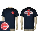 Chicago Fire Department RESCUE 1 T-Shirt
