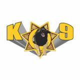 Decal - K-9 Star (4 Inch)