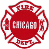 Chicago Fire Department Logo PATCH
