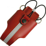Perfect Fit RED REFLECTIVE Fire Radio Holder (Universal - Leather)