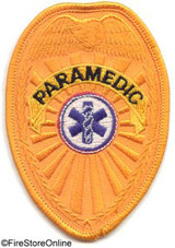 Patch - PARAMEDIC Badge (gold)
