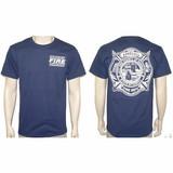 Honolulu Fire Department Duty T-Shirt (Maltese Logo Back)