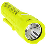NightStick Pro Intrinsically Safe Permissible Dual-Light™ Flashlight (Hi-Viz GREEN) - Close Up