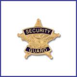 Hookfast Five Point Star Security Guard  Emblem QS-4774