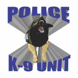 Decal - K-9 UNIT Attack (4 Inch)