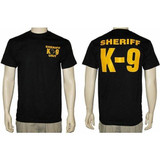 Sheriff K-9 Unit T-Shirt (Black)